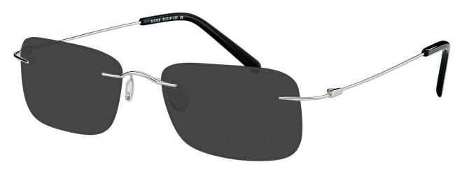 SFE reading sunglasses in Silver