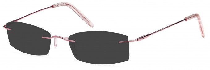 SFE reading sunglasses in Pink