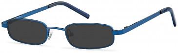 SFE reading sunglasses in Matt Blue
