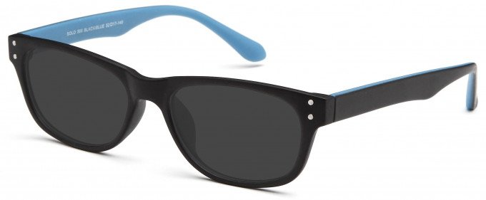 SFE reading sunglasses in Black/Blue