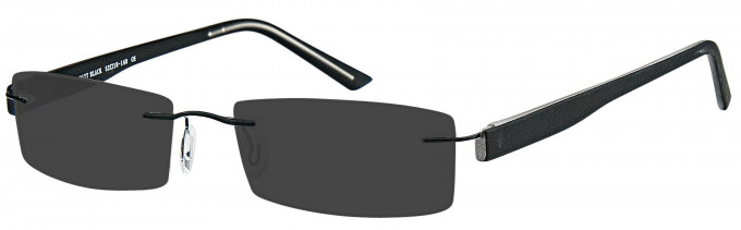 SFE sunglasses in Matt Black
