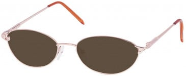 SFE sunglasses in Pink Gold
