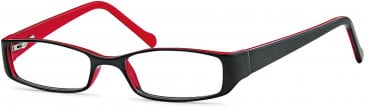 Kids glasses in Black/Red
