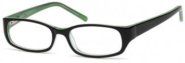 Kids glasses in Black/Green