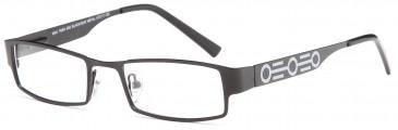 Kids glasses in Black/Gunmetal