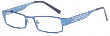 Kids glasses in Blue/Gunmetal
