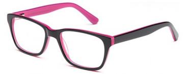 Kids glasses in Black/Pink