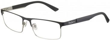 Pepe Jeans PJ1175 Glasses in Black/Silver