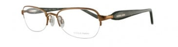 Nicole Fahri NF0029 Glasses in Gold/Brown