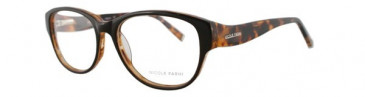 Nicole Fahri NF0019 Glasses in Red/Brown