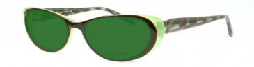 Nicole Fahri NF0009 Glasses in Green