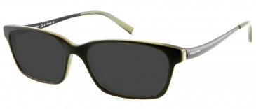 Nicole Fahri NF0041 Glasses in Black/Green