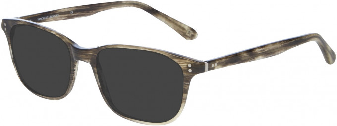 Hackett HEB141 Glasses in Olive Horn