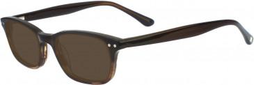 Hackett HEB074 Glasses in Brown Gradient