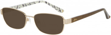 Joules JO1013 Sunglasses in Gold