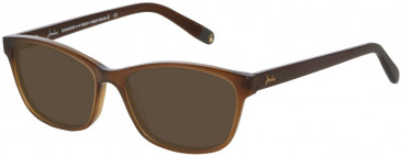 Joules JO3011 Sunglasses in Brown Fade