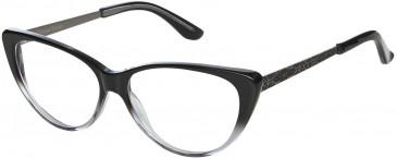 Christian Lacroix CL1043 Glasses in Black/Transparent
