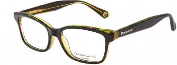 Christian Lacroix CL1053 Glasses in Black