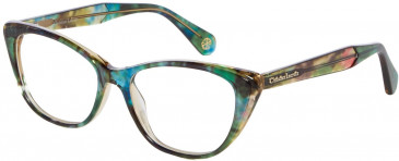 Christian Lacroix CL1056 Glasses in Green/Blue