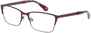 Christian Lacroix CL3044 Glasses in Dark Red