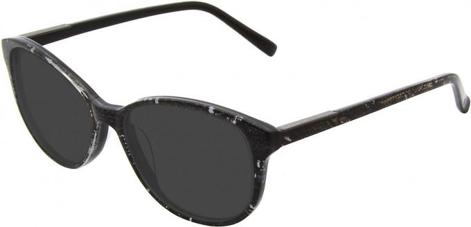 Christian Lacroix CL1040 Sunglasses in Black/White