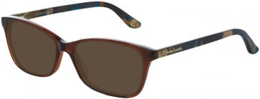 Christian Lacroix CL1044 Sunglasses in Brown