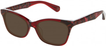 Christian Lacroix CL1052 Sunglasses in Red