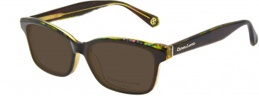 Christian Lacroix CL1053 Sunglasses in Black