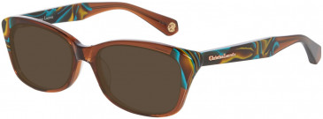 Christian Lacroix CL1057 Sunglasses in Brown