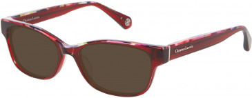 Christian Lacroix CL1058 Sunglasses in Red