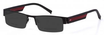 Crosshatch CRH109 Sunglasses in Black