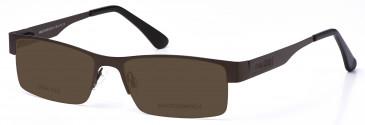 Crosshatch CRH110 Sunglasses in Gunmetal