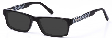 Crosshatch Plastic Prescription Sunglasses