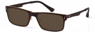 Crosshatch CRH114 Sunglasses in Brown