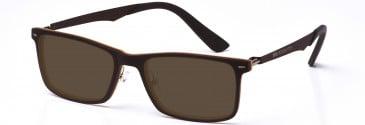 Crosshatch CRH115 Sunglasses in Brown