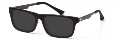 Crosshatch CRH117 Sunglasses in Brown