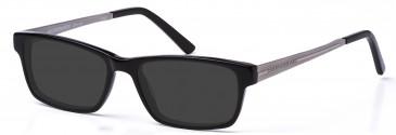 Crosshatch CRH108 Sunglasses in Black