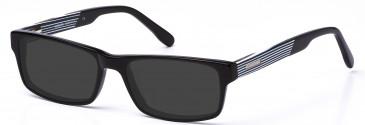 Crosshatch CRH113 Sunglasses in Black