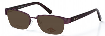 Lee Cooper LC9039 sunglasses in Purple