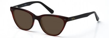 Lee Cooper LC9041 sunglasses in Burgundy