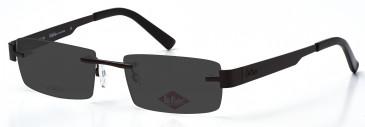 Lee Cooper LC9050 sunglasses in Gunmetal
