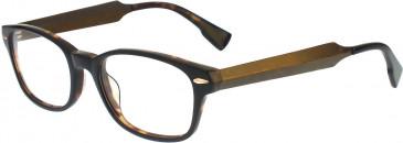 Ted Baker TSS009 Glasses in Black/Tortoiseshell
