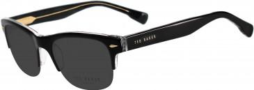 Ted Baker TSS006 Sunglasses in Black/Crystal