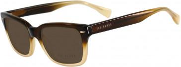 Ted Baker TSS007 Sunglasses in Black/Crystal
