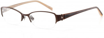 Jones New York JNY J128 Glasses in Chocolate Brown
