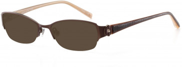 Jones New York JNY J128 Sunglasses in Chocolate Brown