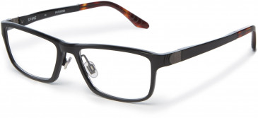 Spine SP2001 Glasses in Black