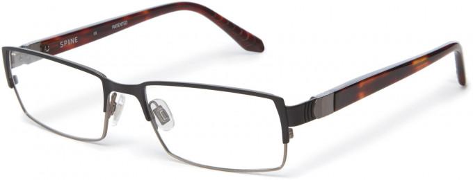 Spine SP2002 Glasses in Black