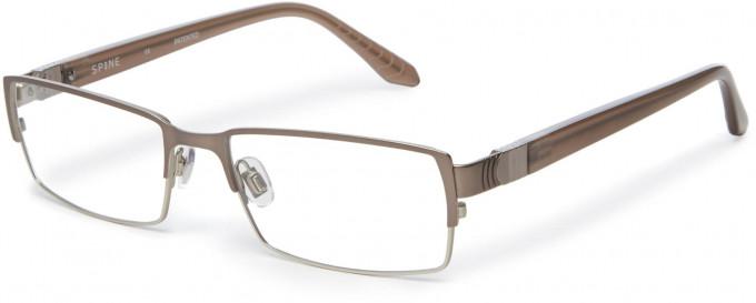 Spine SP2002 Glasses in Light Gunmetal
