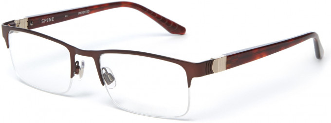 Spine SP2004 Glasses in Brown